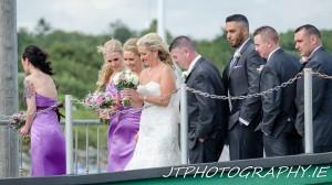 Bride Courtown Pier