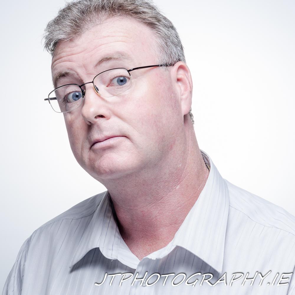 John Timmons Self Portrait Headshot