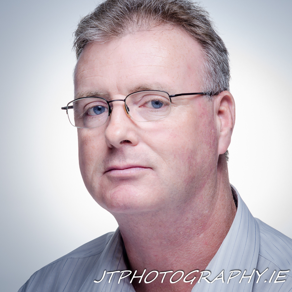 John Timmons Self Portrait Headshot